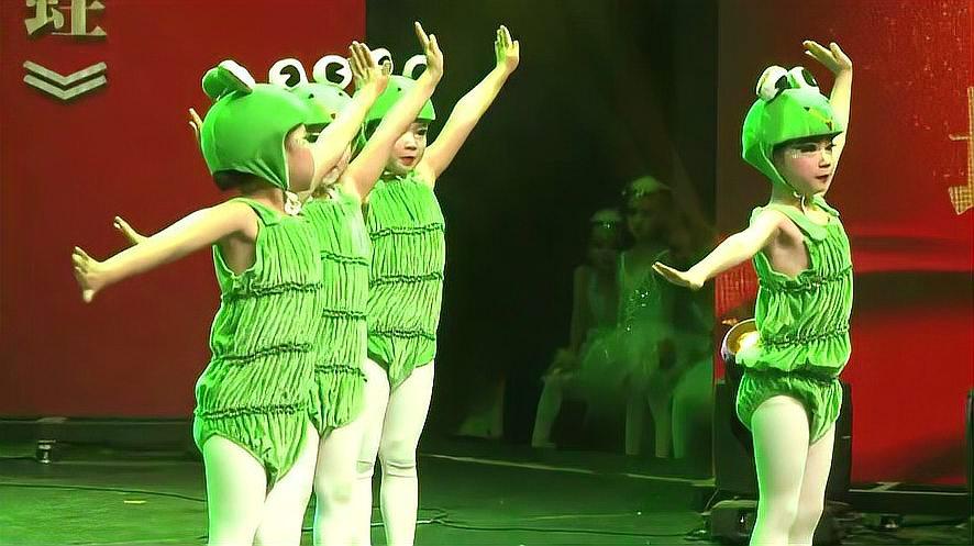 《小跳蛙》幼儿舞蹈视频