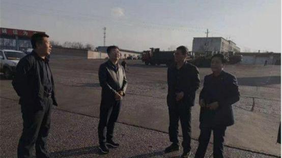 五寨县县长刘志成深入部分煤炭运销企业就环境保护工作进行监督指导