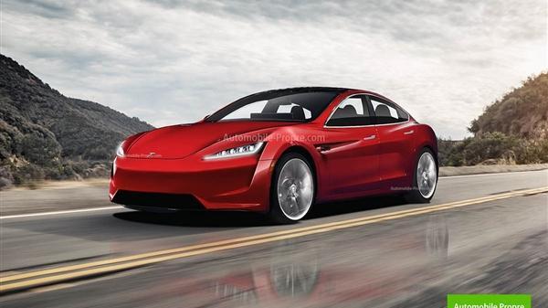 疑似新款特斯拉Model S白车身谍照曝光:预计3月份交付