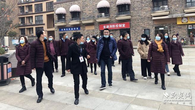 武汉龙湖社区党建引领红色物业 提升社区共建共管共治