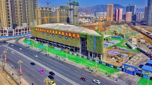 甘肃简牍博物馆已完成主体结构封顶 有望年底建成开放