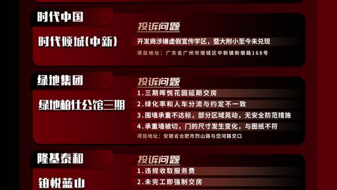 """中国房产质量周报第六期:""""先交钱再验房""""?业主可拒绝"""