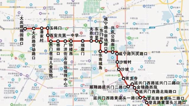 9月29日起,这条公交线路有调整
