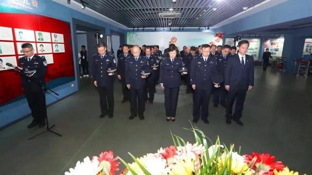 广东省公安机关广泛开展缅怀英烈主题活动