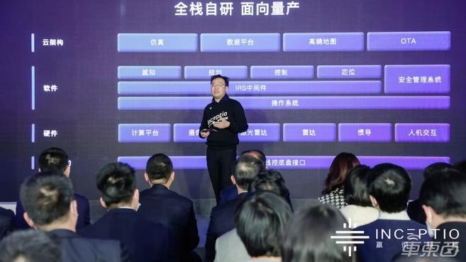 """业内首次!嬴彻发布自动驾驶系统""""轩辕"""",2024年车队规模要达8万台"""