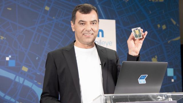 Mobileye副总裁:今年将在吉利车型上率先搭载EyeQ5芯片