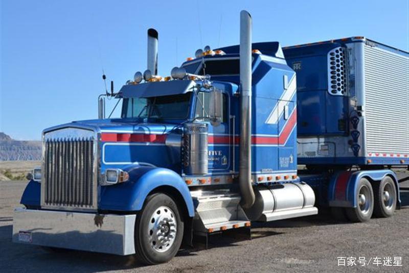 为何国内大多是平头卡车,美国卡车却有长长的车头?设计有缺陷?