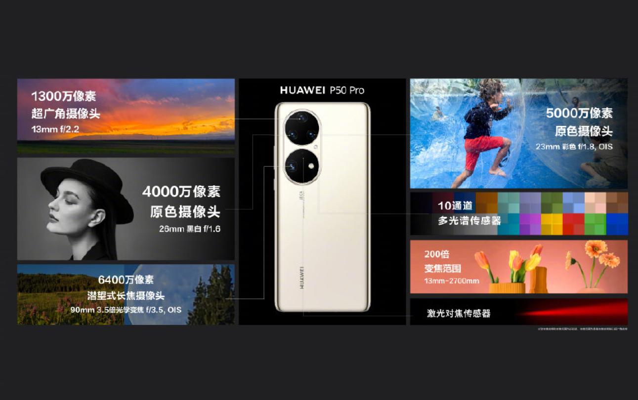 华为P50系列终于发布,5G芯片只能当4G用,尽显华为的无奈!