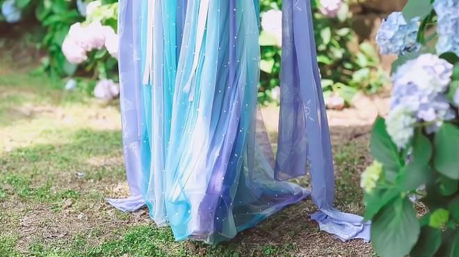 汉服:小姐姐的这件汉服裙太仙了