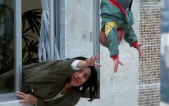 最佳拍档4:小光头失足,从天台跌落,还好有幸运女神眷顾