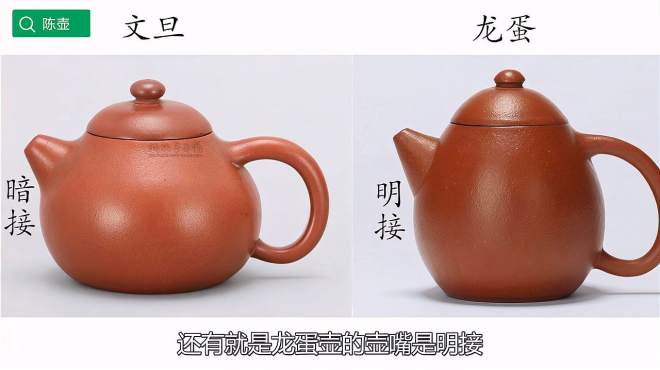 龙蛋壶和文旦壶的区别