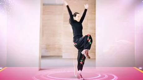广场舞玛尼情歌背面_安吉娜爱跳舞-好看视频