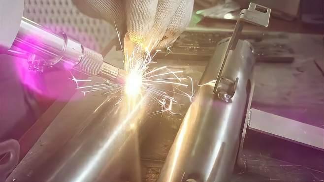 不锈钢圆管配套件焊接,激光焊接机1500W填丝焊接
