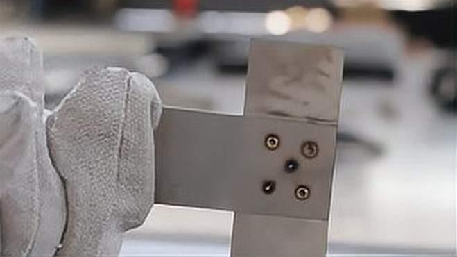 2MM厚材料板材拼焊焊接,1500W手持激光焊接机