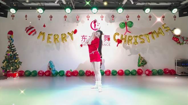 盼盼老师原创圣诞舞蹈,东方舞《许愿圣诞节》「东方之舞」