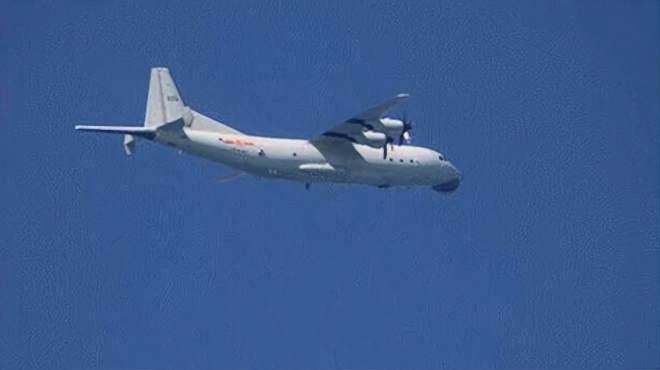 15小时内两度巡台!解放军军机一早再进入台湾西南空域