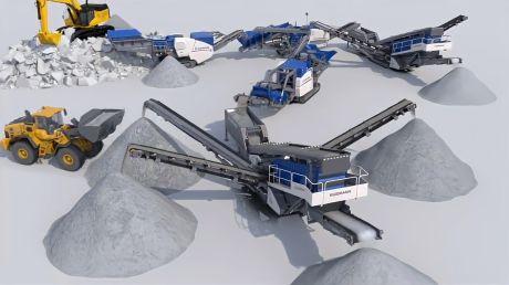欧维实业 - 砂石生产线3D动画演示