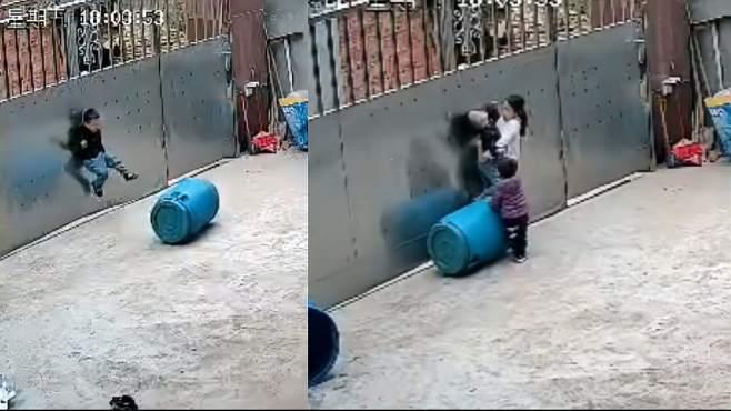3岁男童被拴门绳勒脖吊挂致昏迷