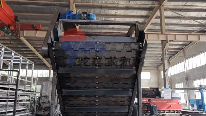 超强载重量!重型链板提升机运行参考