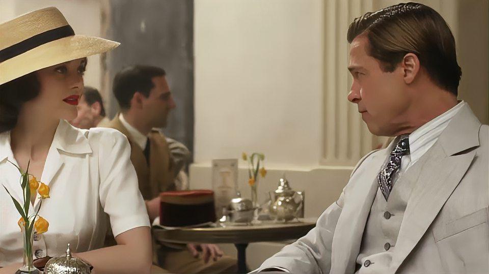 《间谍同盟》二战下一段惊心动魄的悬疑爱情片,到底谁是间谍?