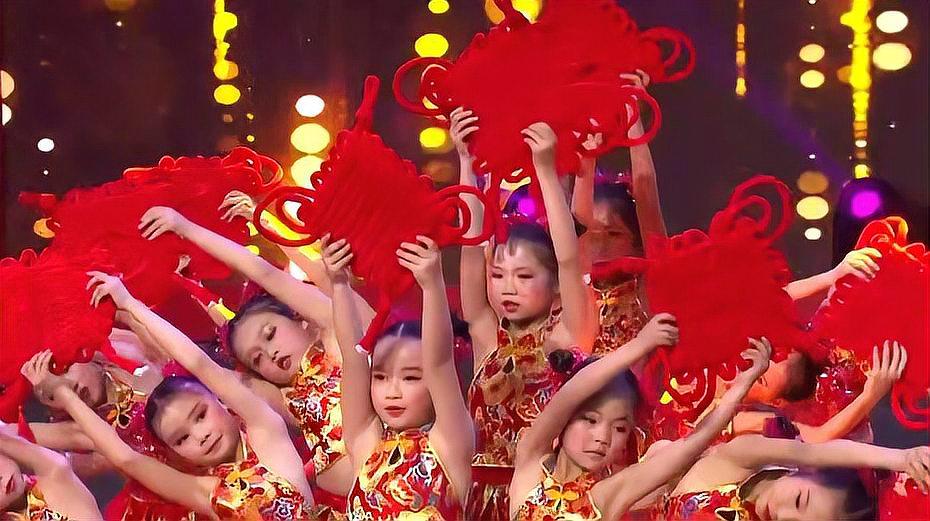 儿童舞蹈《红红的中国结》+歌词
