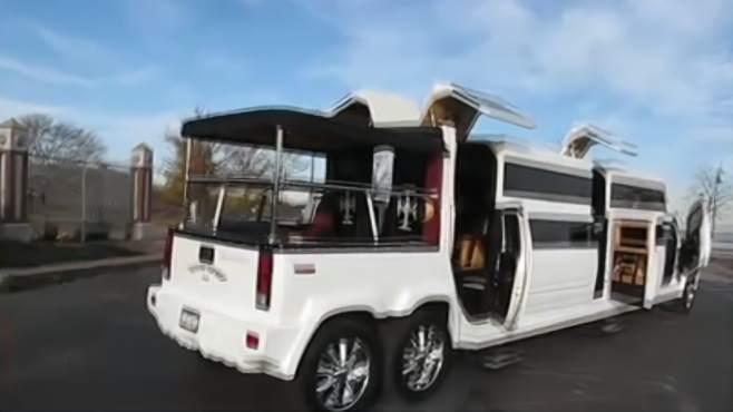 世界最长的五款私家豪车,你都见过么