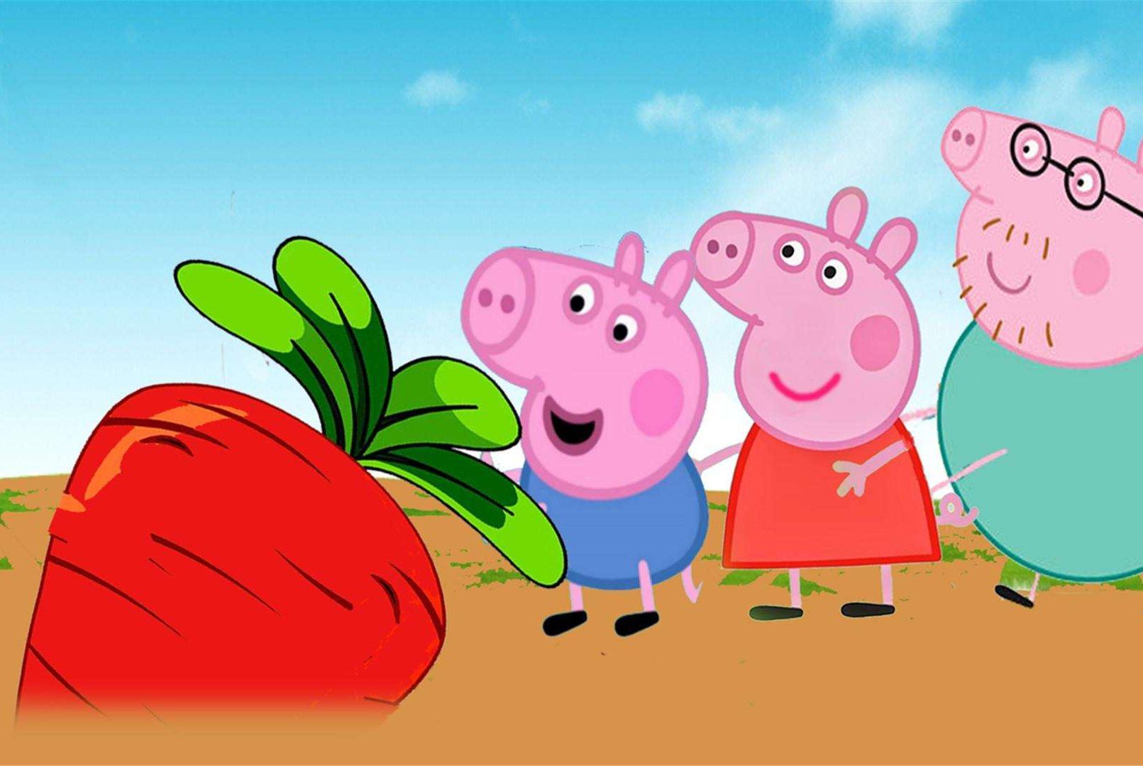 为何《小猪佩奇》能俘获孩子们的心,动漫里种种细节说明原因所在