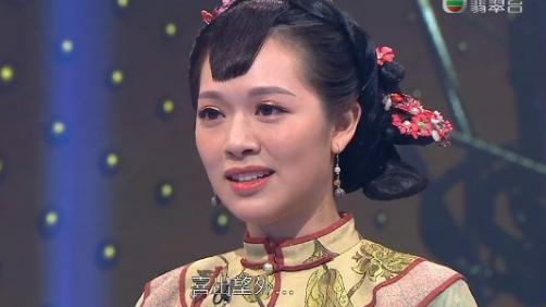 前港姐冠軍穿古裝戲服,聲演胡杏兒經典角色!獲劉江贊:出神入化