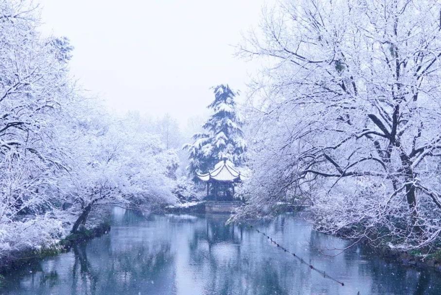 一下雪,杭州就美成了临安!