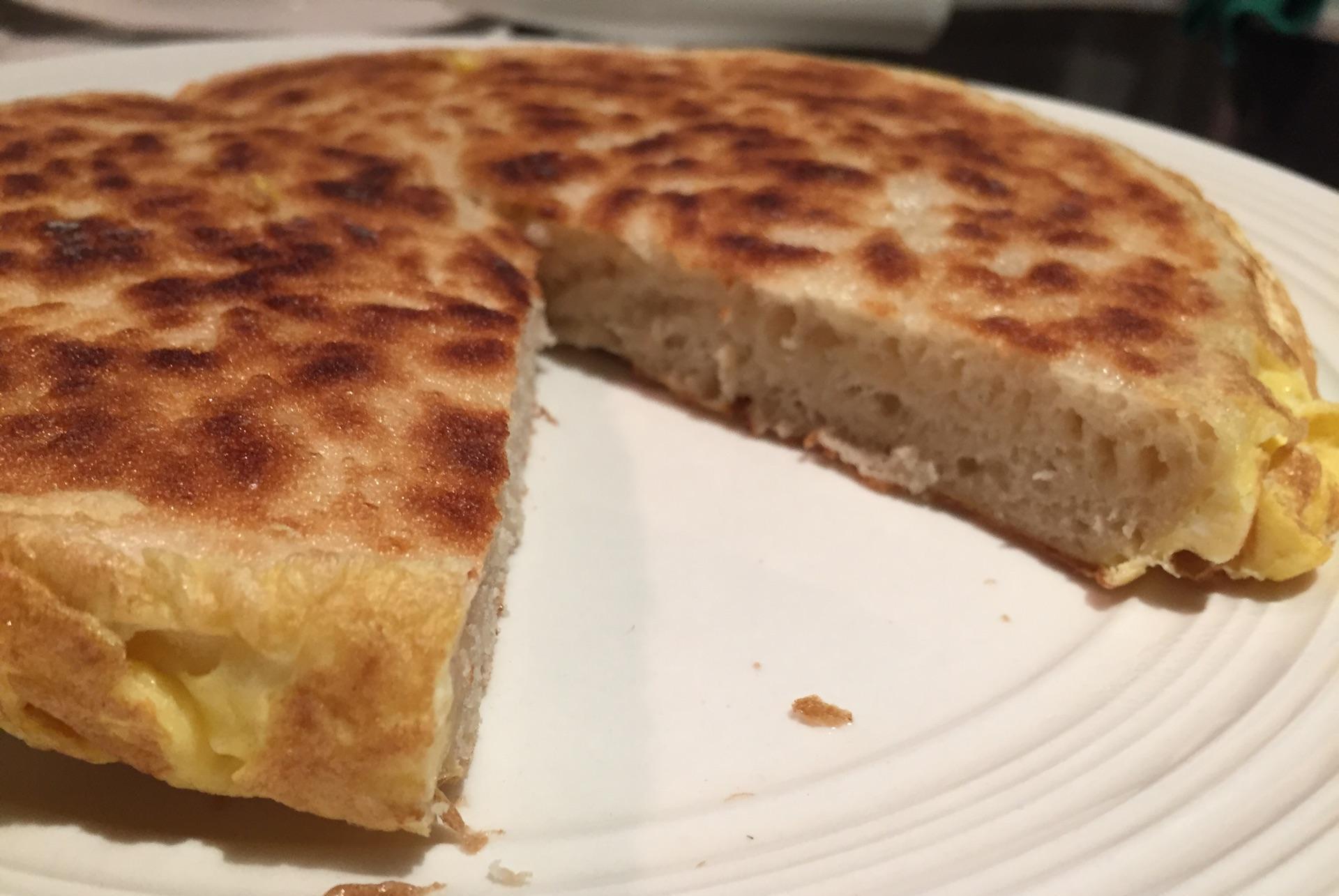 秋季,麦片别光泡牛奶,做成发面饼,层次分明,低脂营养又美味