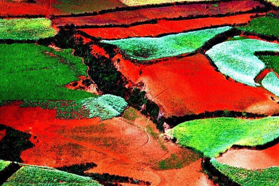 秘境:东川红土地,云南苍穹下的人间彩虹!