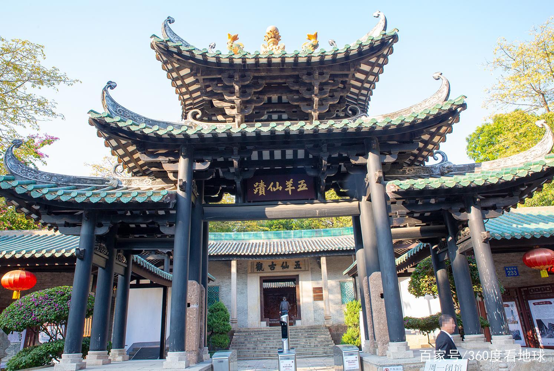 """广州最完整的明代建筑,居然供奉着五只羊,被誉为""""岭南第一楼"""""""