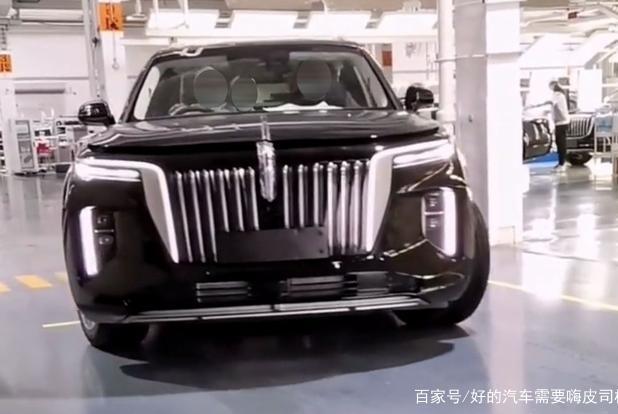 """红旗纯电SUV量产版实车再曝光 国产""""库里南""""续航600公里"""