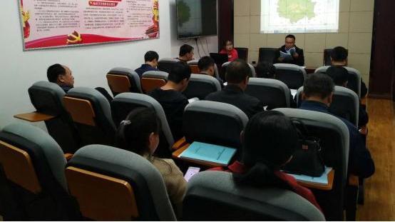 忻州市生态环境局岢岚分局组织召开岢岚县农村生活污专项规划(2021-2025年)评审会