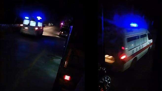 现场画面曝光!河南信阳一货车与送葬人群相撞 已致9死4伤