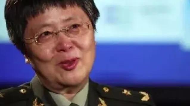 陈薇将军,又落泪了