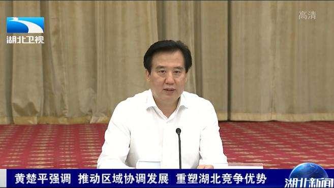 黄楚平强调 推动区域协调发展 重塑湖北竞争优势|武汉关注