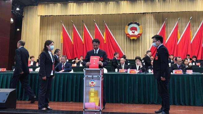 韩双林当选四川省内江市东兴区政协主席