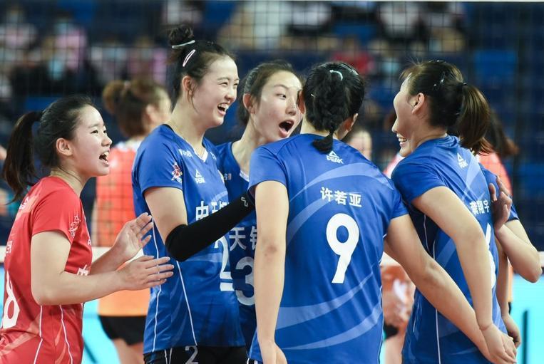 排超第三轮:天津女排为何2-3负于江苏?一项数据对比给出答案